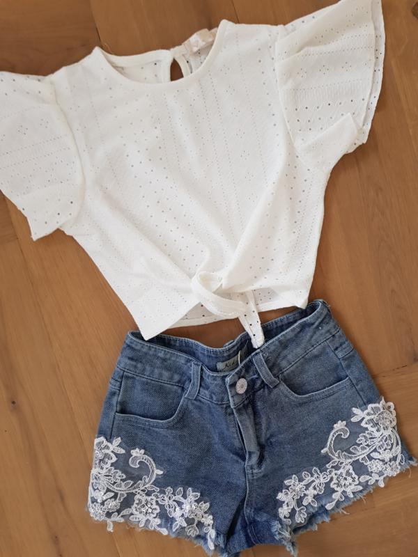 Shirtje Lace Ruffle