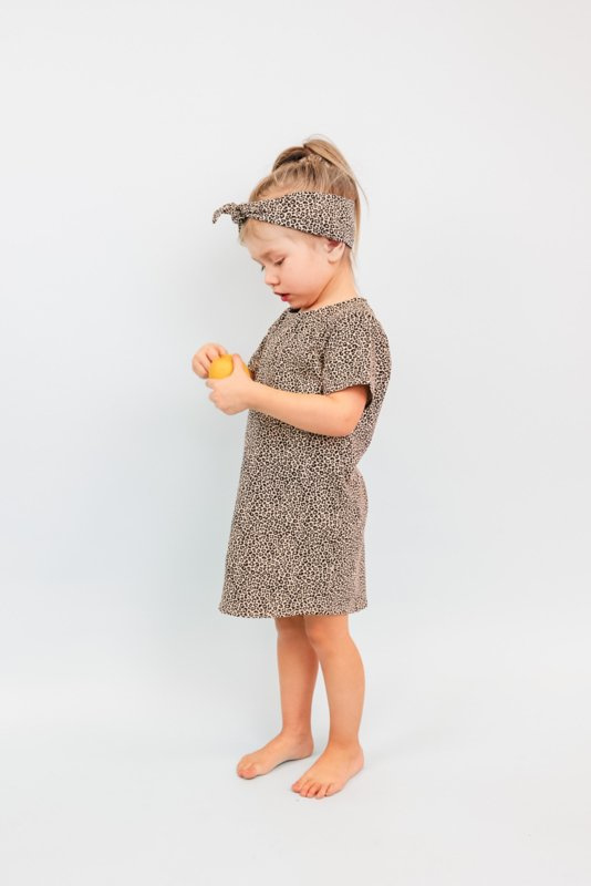 Tshirt dress Cheetah | Handmade