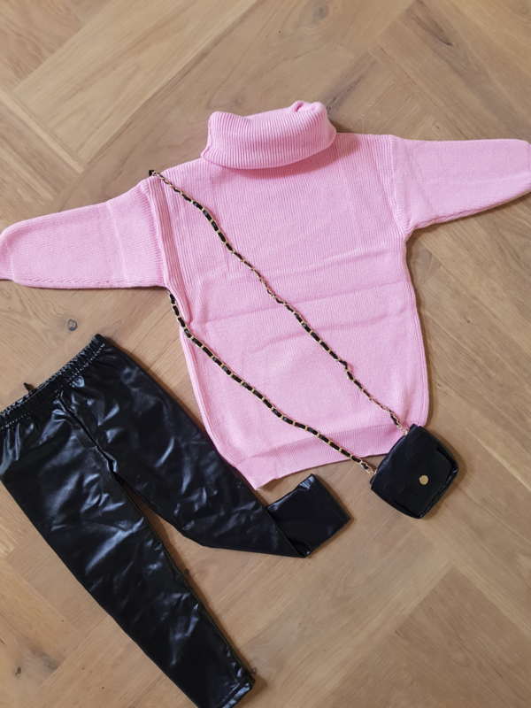 Comfy Sweaterdress Pink