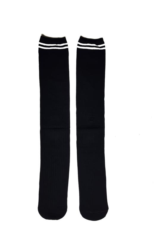 Kniekousen zwart (4-12 jaar)