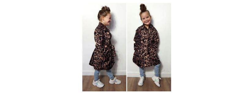 Zomerjasje meisje leopard
