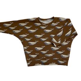 Little León x Lots Of Little - Sweater Walvissen