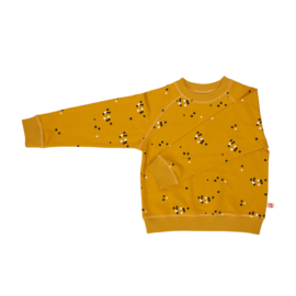 Froy & Dind AW20 - Sweater Ilias Dots Mustard