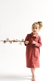Sleepyfox AW20 - Hemdjurk Kira Marsala