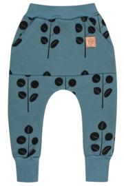 Zezuzulla AW20 - Kangu Pants Leaves On Blue