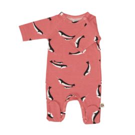 Onnolulu AW20 - Jumpsuit Otto With Feet Narwhal