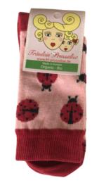 Fräulein Prusselise - Sokken Lieveheersbeestjes