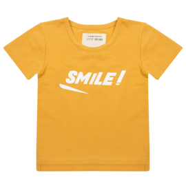 Little Indians SS19 - t-Shirt  Smile - oker