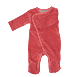Froy & Dind AW20 - Jumpsuit With Feet Old Rose Velours