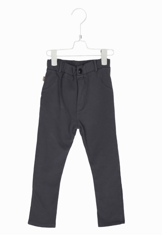 Lotiekids Basics - 5 pockets stretch cotton fleece pants