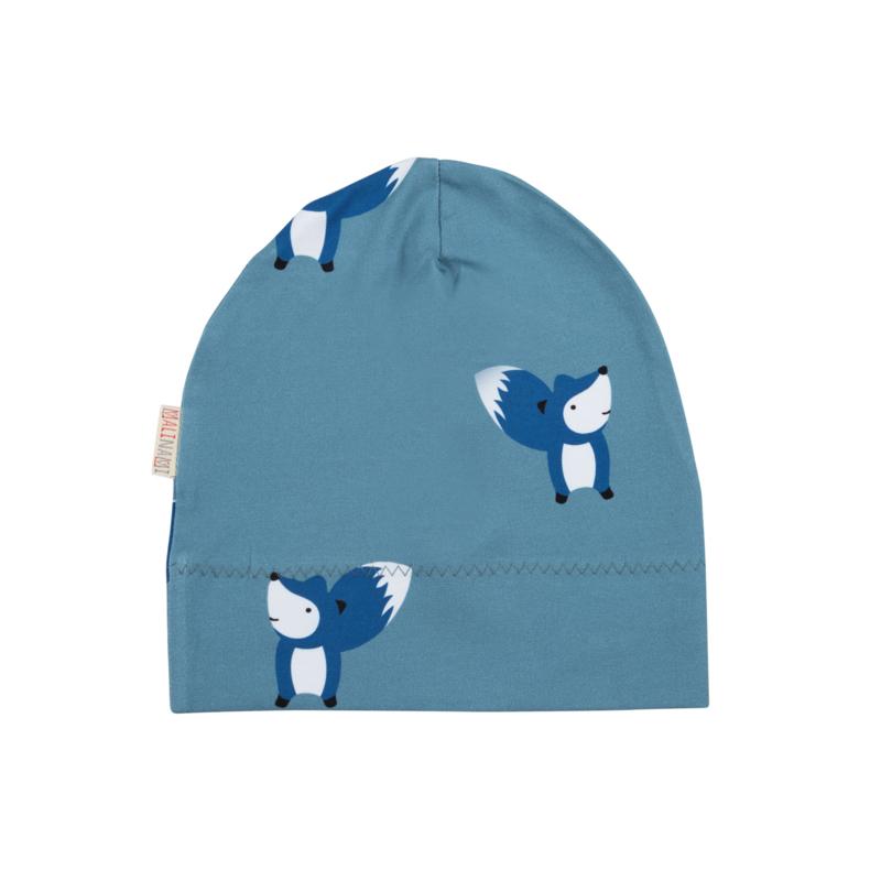 Malinami AW20 - Beanie Fox On Blue