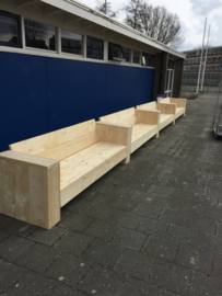 Loungebanken voetbalvereniging Zwaluwen, Leeuwarden