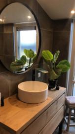 Badkamermeubel met 2 lades op stalen frame