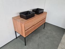 Badkamermeubel Meranti hout
