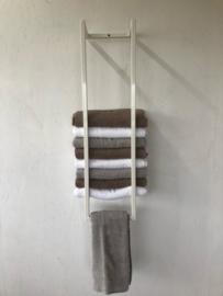 Industrieel handdoek rek (wit)