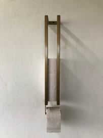 Industriële toiletrolhouder (goud)