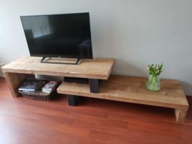 Tv-meubel, Industrieel , Oude balken