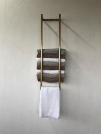 Industrieel handdoek rek (goud)