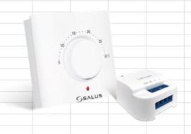 Salus - analoge thermostaat met inbouwschakelaar / relais