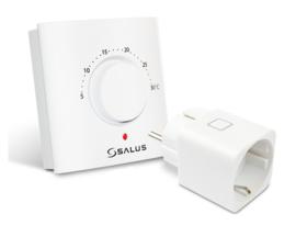 Salus - analoge thermostaat met stekker schakelaar