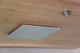 Vitramo plafond infraroodpanelen glas