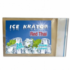 Ice Kratom - Red Thai - 20 gr
