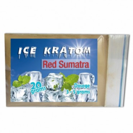 Ice Kratom - Red Sumatra - 20 gr