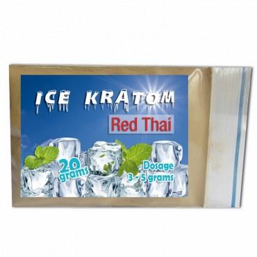 Ice Kratom - Red Thai - 20 gr