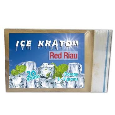 Ice Kratom - Red Riau - 20 gr
