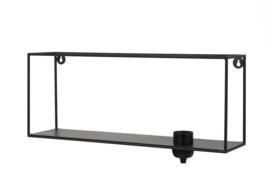 Wandlamp 50x12x20 cm RAIKO mat zwart