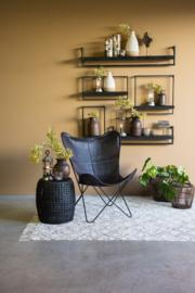Wandplanken van staal&hout
