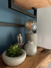 Tafel lamp beton