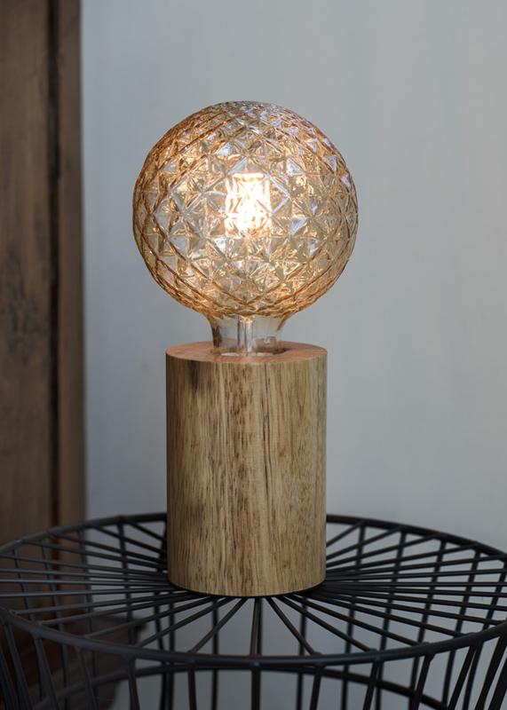 Tafel lamp wood
