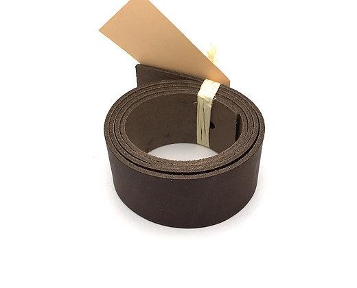 leren plankendrager set van 2 kleur cacoa