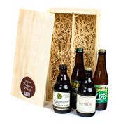 Kerstpakket organic belgium beer