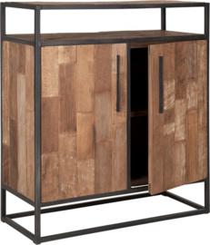 Dressoir, 2 deuren, 1 open vak 100x90x40 cm