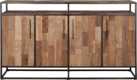 Dressoir, 4 deuren, 1 open vak 100x178x40 cm