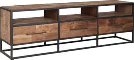 TV meubel, 3 laden, 3 open vakken (drie maten)