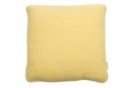 Cushion Nathalie pastel yellow