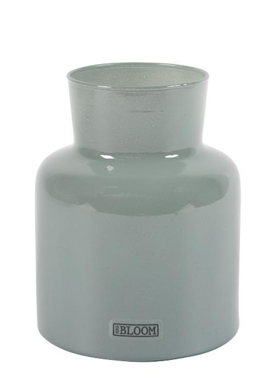 Vase Rouen M old bleu