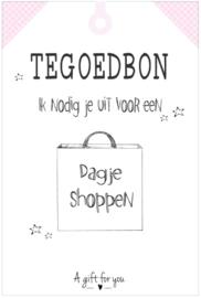 Tegoedbon 'Shoppen'