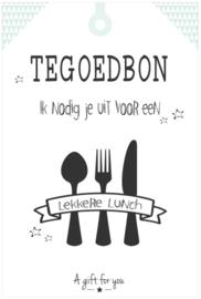 Tegoedbon ||Lekkere Lunch ||groen