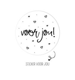 Stickers ||Voor jou! ||10 stuks