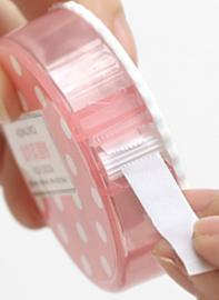 Dubbelzijdig Tape 9mm * 3m ||+Navul ||roze