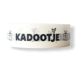 Masking tape || Kadootje