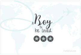 Postkaart A Boy...