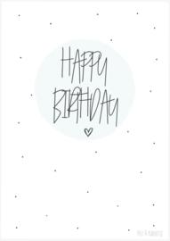 Postkaart ||Happy Birthday