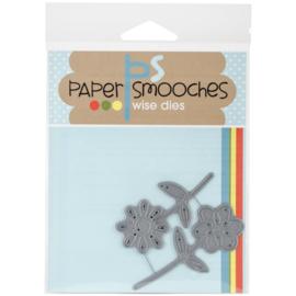 Paper Smooches||Snijmal|| Dainty Flowers|| Nieuw