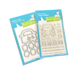 Car Critters || Complete set! || Lawn Fawn