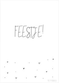 Postkaart ||Feestje!